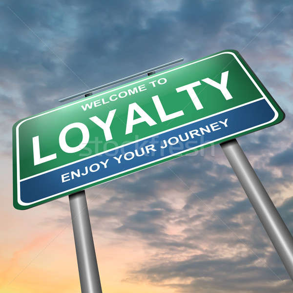 Loyalty concept. Stock photo © 72soul