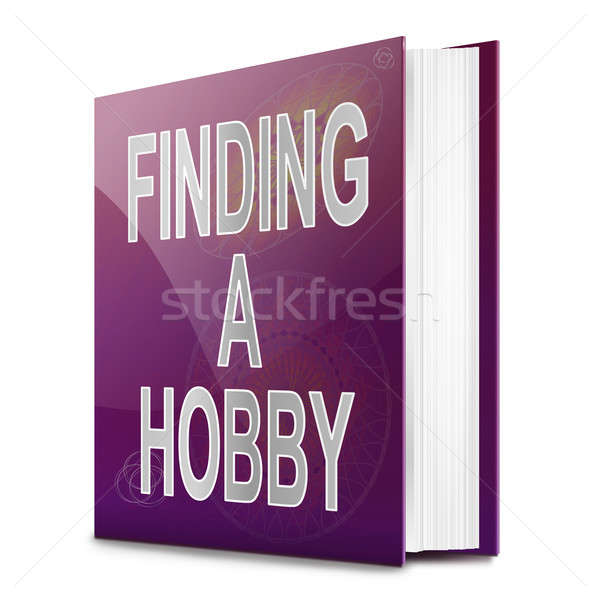 Finding a hobby concept.. Stock photo © 72soul