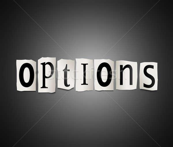 Options concept. Stock photo © 72soul