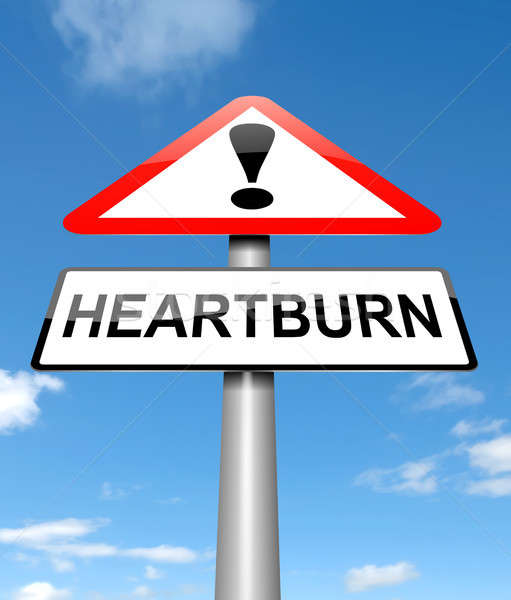 Heartburn concept. Stock photo © 72soul
