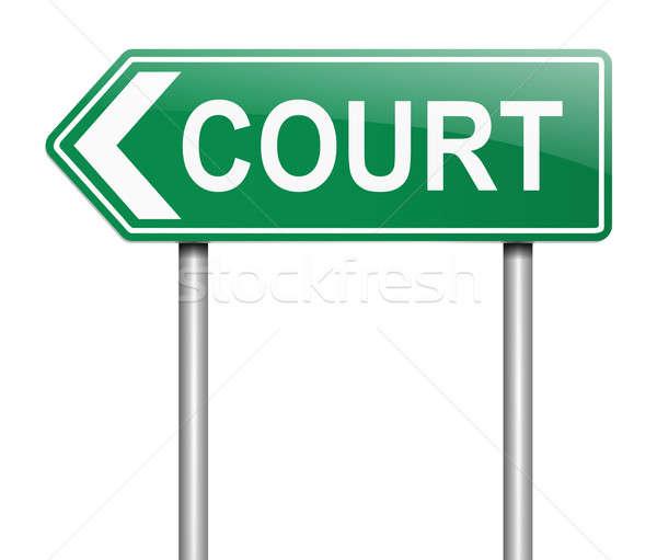 Court concept. Stock photo © 72soul