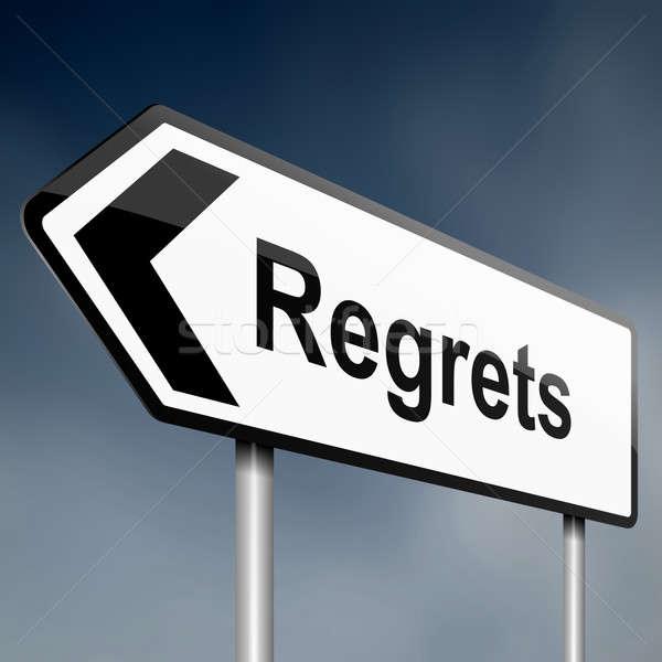 Regrets concept. Stock photo © 72soul