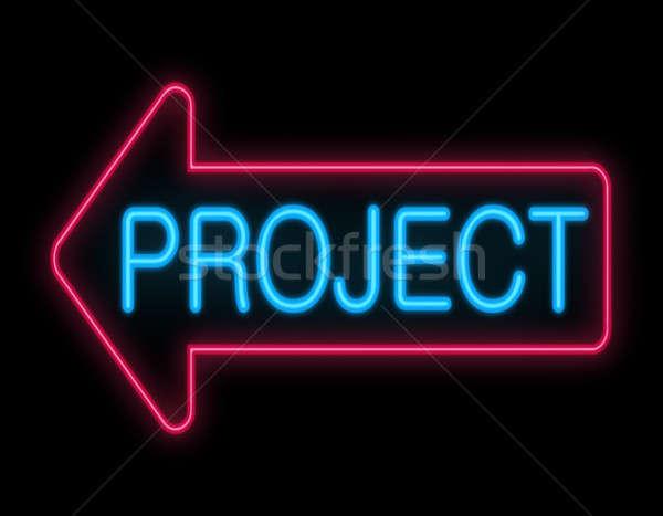 Project concept. Stock photo © 72soul
