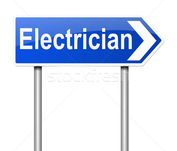 Electrician concept. Stock photo © 72soul