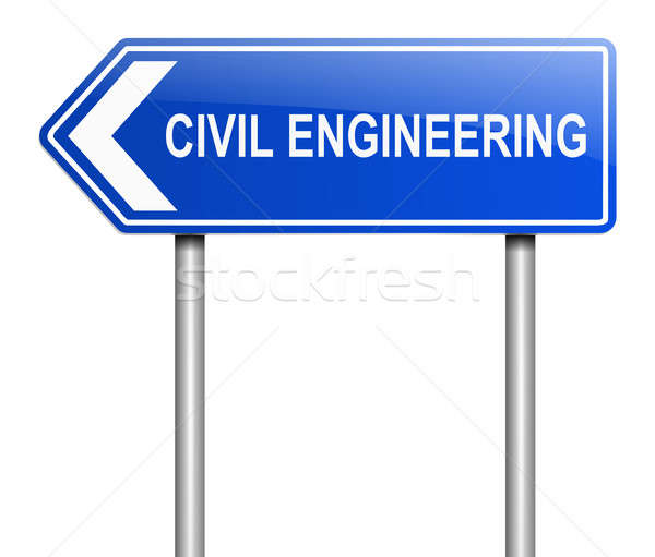 Civil engineering concept. Stock photo © 72soul