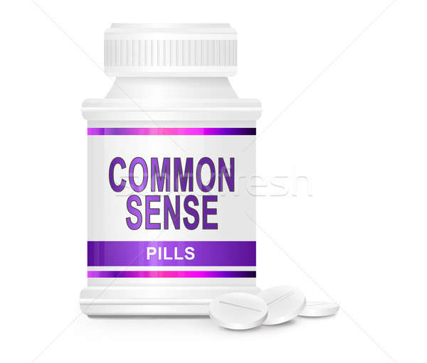 Common sense tablets. Stock photo © 72soul