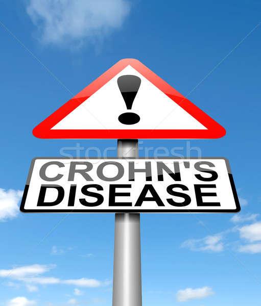 Crohn's Disease concept. Stock photo © 72soul