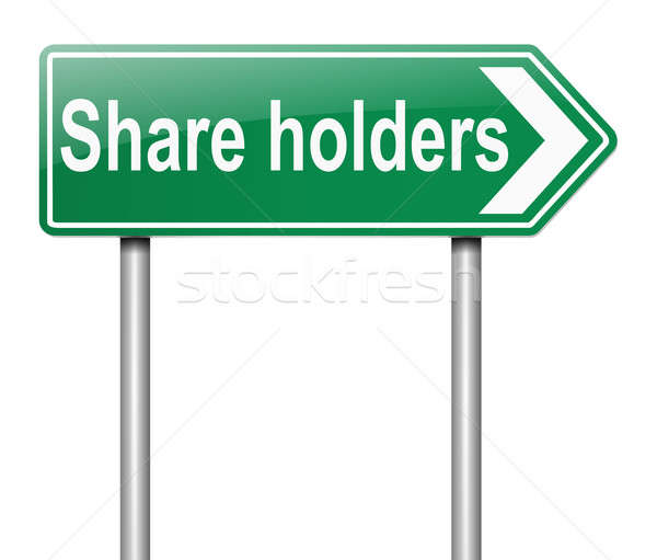 Share holders concept. Stock photo © 72soul