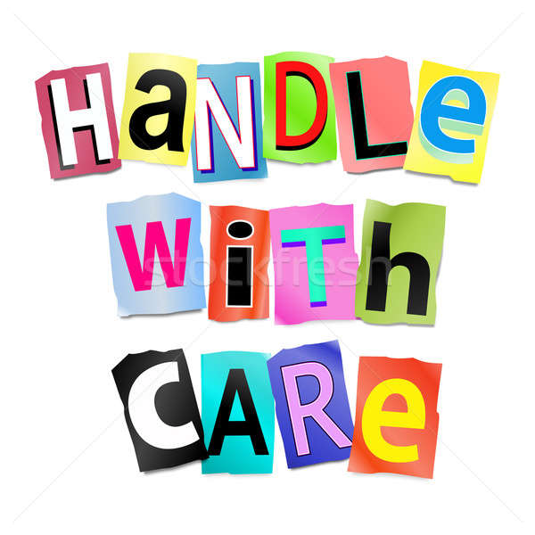 Handle with care. Stock photo © 72soul