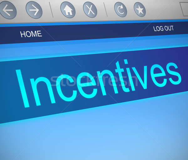 Incentives concept. Stock photo © 72soul