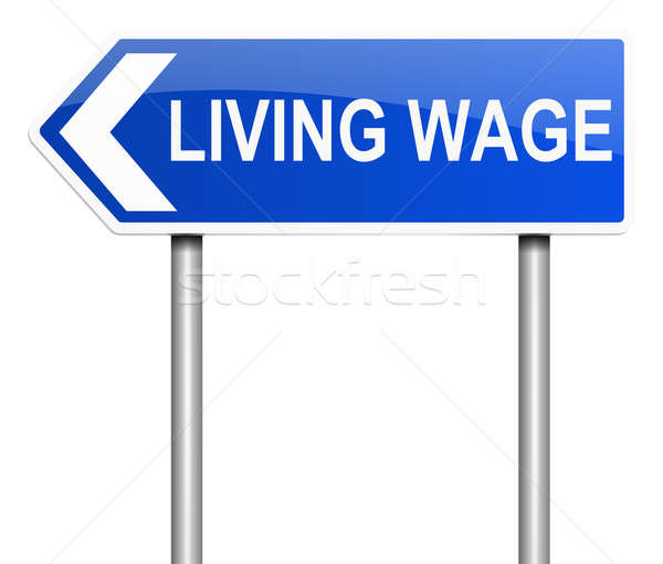 Living wage concept. Stock photo © 72soul