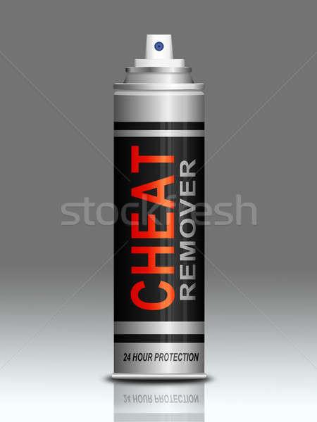 Ilustração aerossol lata gráfico conceito conceptual Foto stock © 72soul