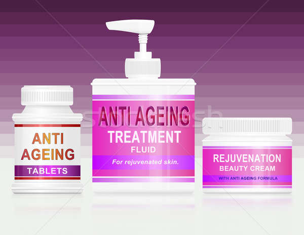 Anti ageing concept. Stock photo © 72soul