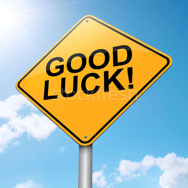 Good luck concept. Stock photo © 72soul