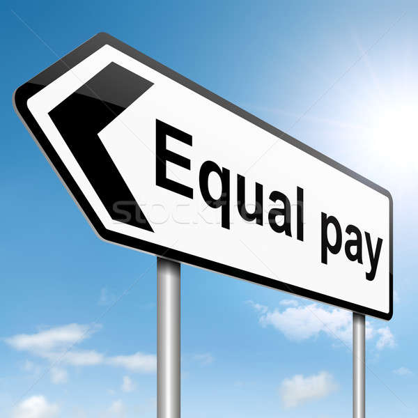 Equal pay concept. Stock photo © 72soul