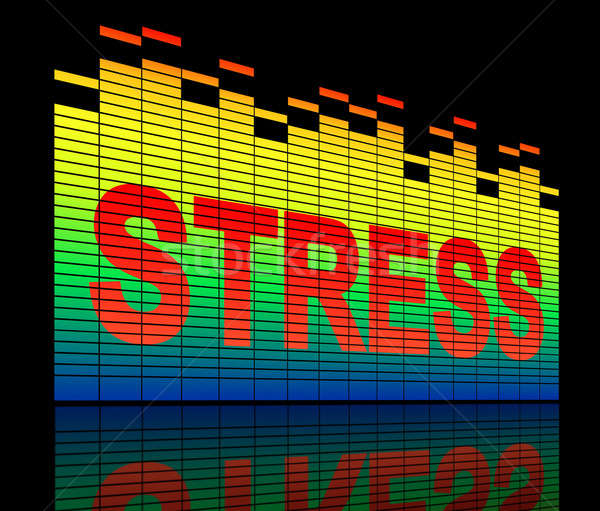 Stress levels concept. Stock photo © 72soul