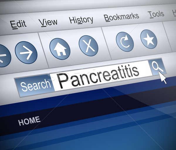 実例 スクリーンショット インターネット 検索 医療 技術 ストックフォト © 72soul