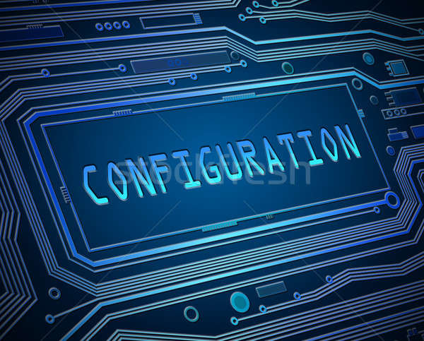 Configuration concept. Stock photo © 72soul
