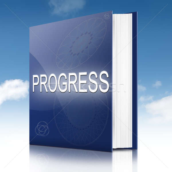 Progress concept book. Stock photo © 72soul