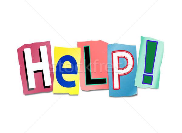 Help concept. Stock photo © 72soul