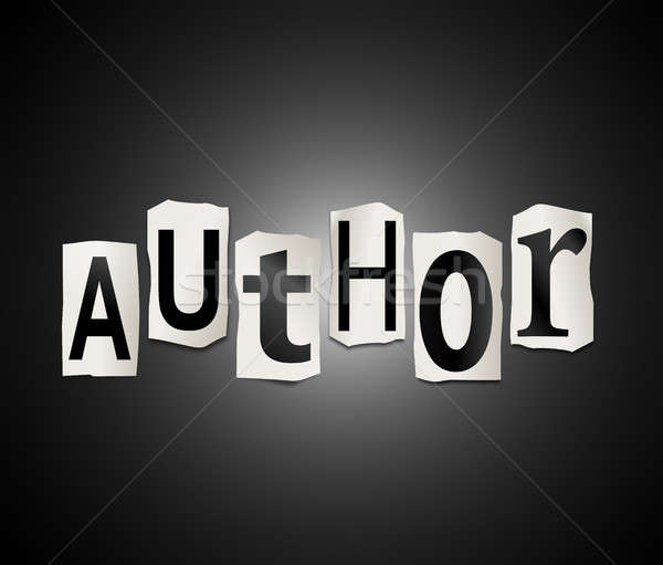 Author concept. Stock photo © 72soul