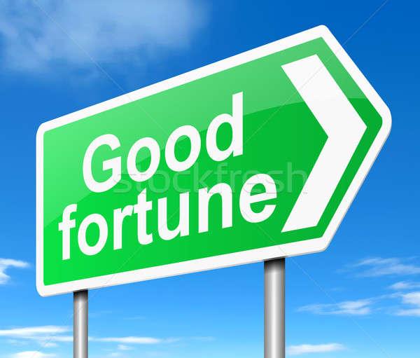 Good fortune concept. Stock photo © 72soul