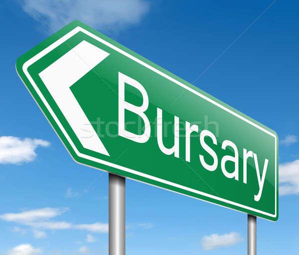 Bursary concept. Stock photo © 72soul