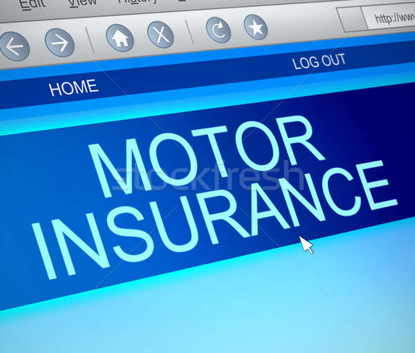 Motor insurance concept. Stock photo © 72soul