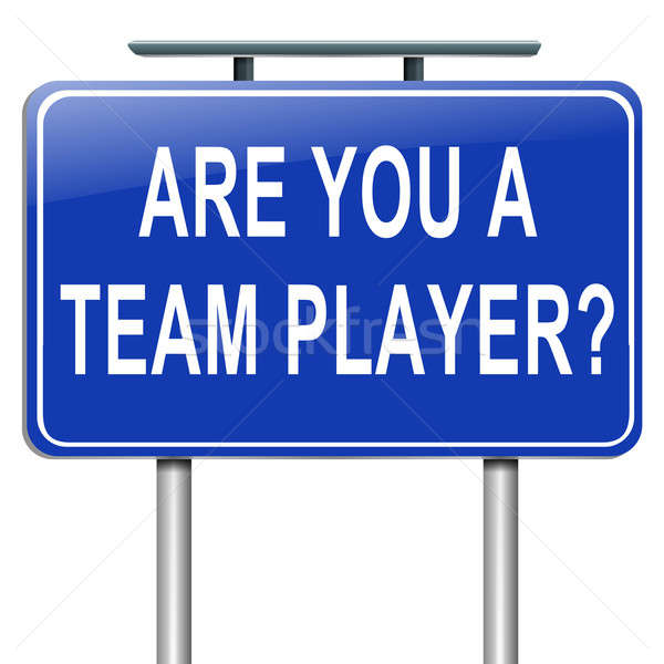 Team player concept. Stock photo © 72soul
