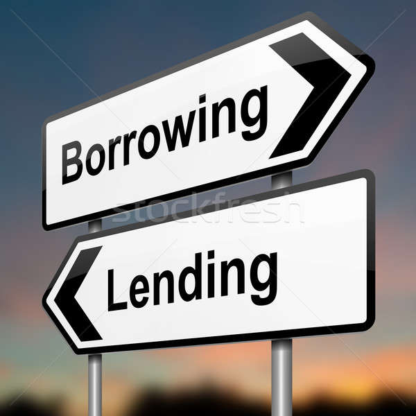 Lend or borrow. Stock photo © 72soul