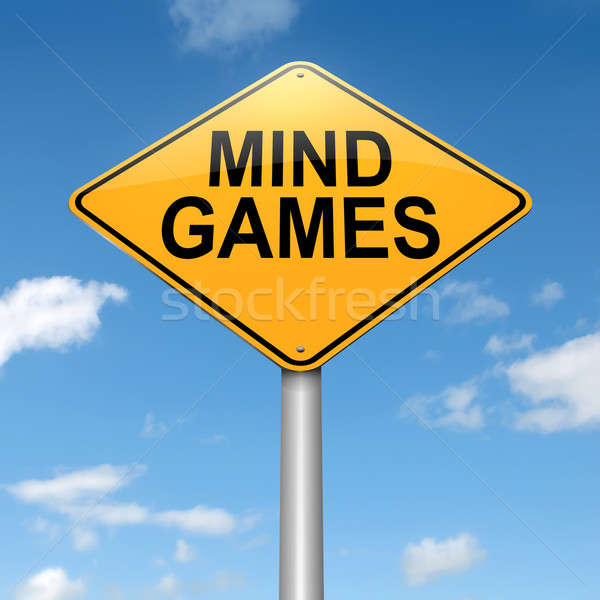 Mind games. Stock photo © 72soul
