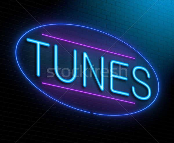 Tunes concept. Stock photo © 72soul