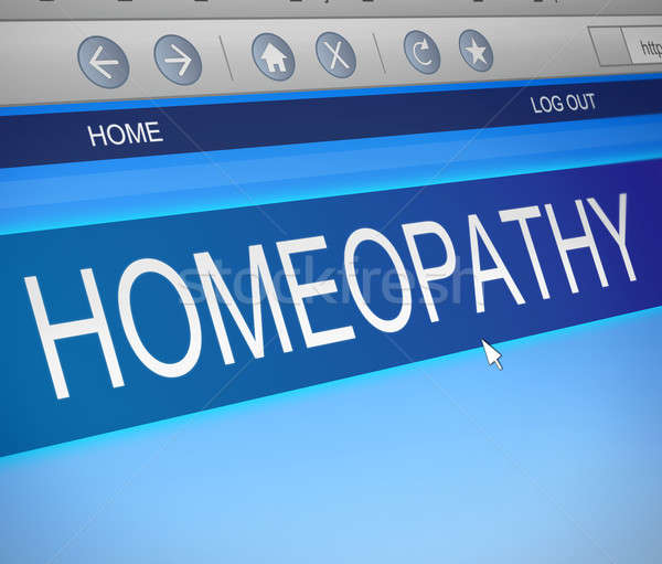Homeopathy concept. Stock photo © 72soul