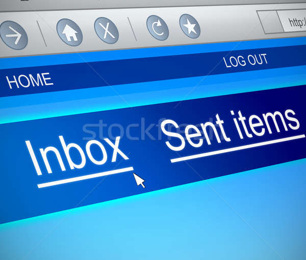 Email concept. Stock photo © 72soul