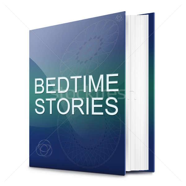 Bedtime stories concept. Stock photo © 72soul