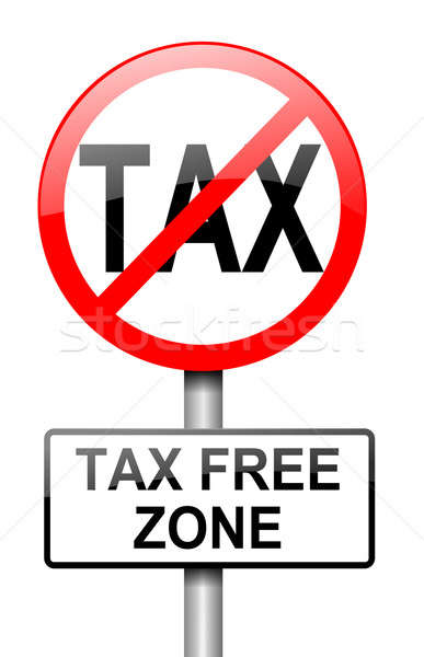Tax free zone. Stock photo © 72soul