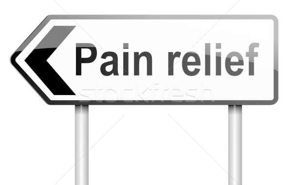 Pain relief concept. Stock photo © 72soul