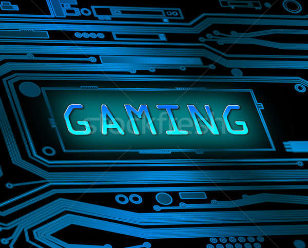 Gaming concept. Stock photo © 72soul