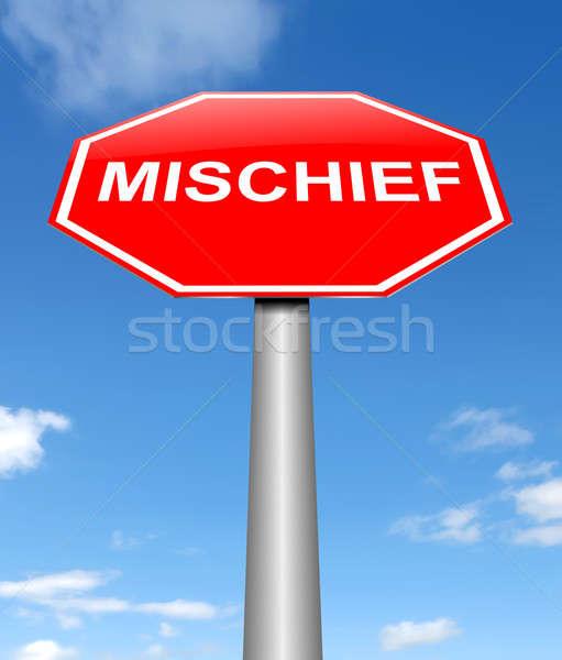 Mischief concept. Stock photo © 72soul