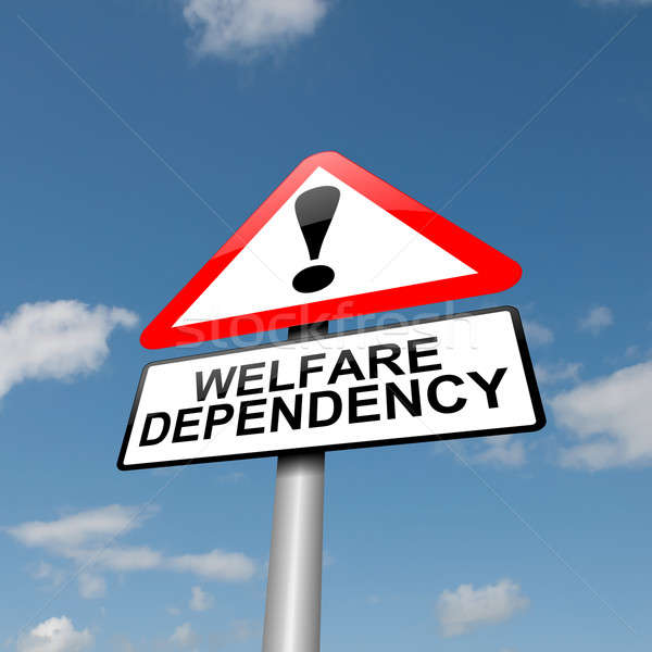 Welfare dependence. Stock photo © 72soul