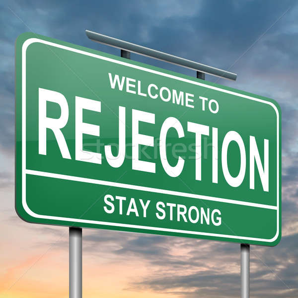 Rejection concept. Stock photo © 72soul
