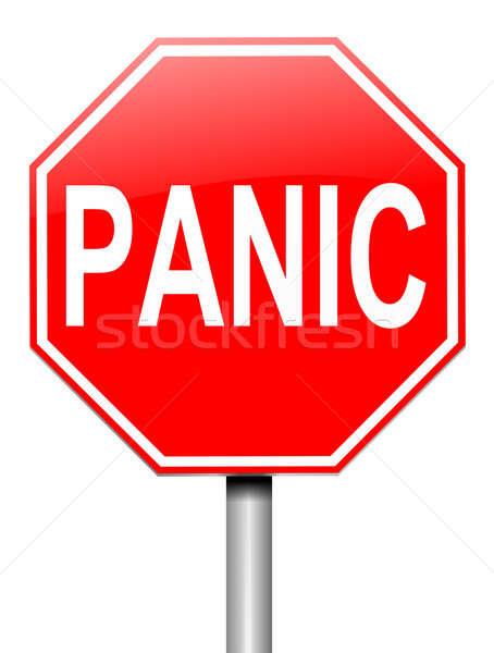 Panic concept. Stock photo © 72soul