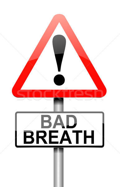 Bad breath concept. Stock photo © 72soul