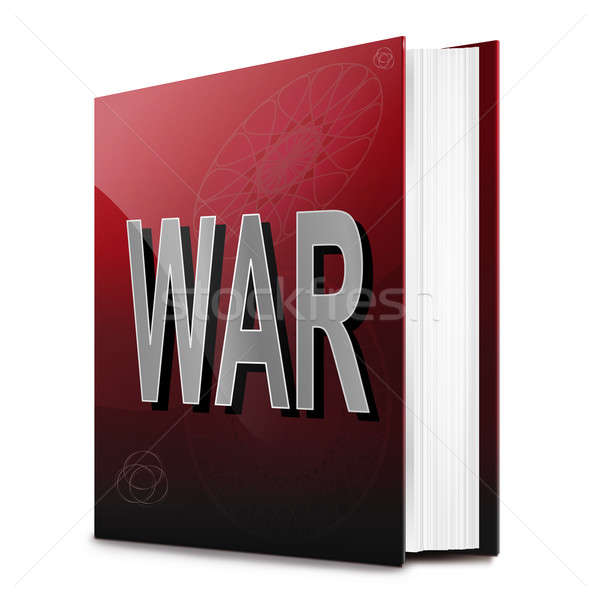 War book. Stock photo © 72soul