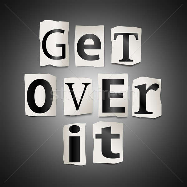 Get over it. Stock photo © 72soul