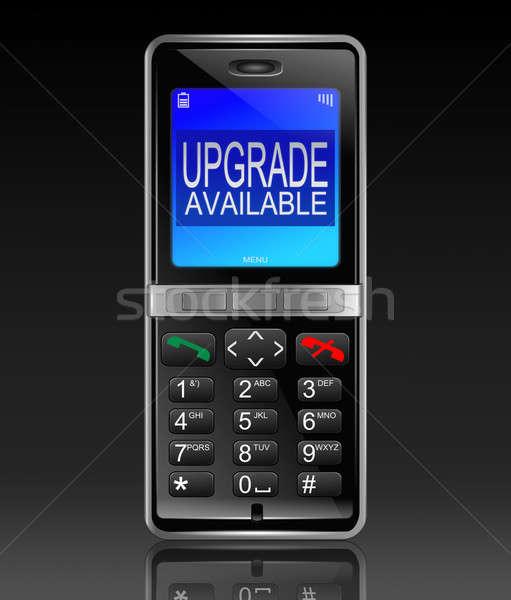 Phone upgrade concept. Stock photo © 72soul