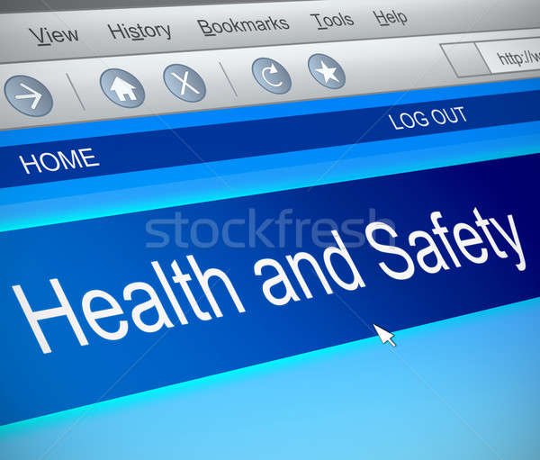 Health and safety concept. Stock photo © 72soul
