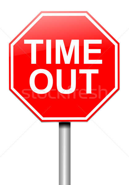 Time out concept. Stock photo © 72soul