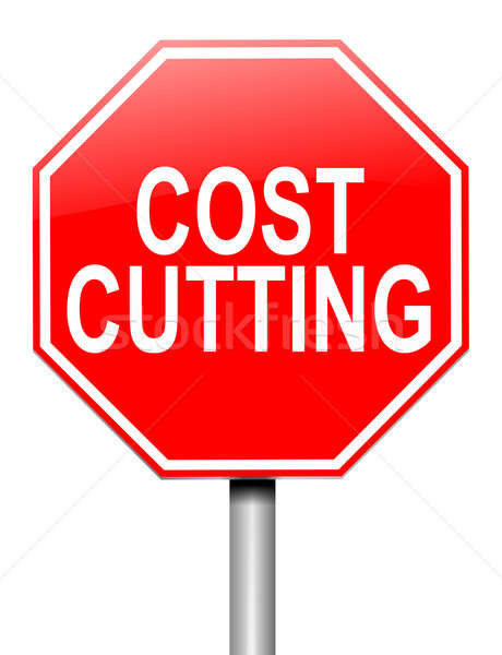 Cost cutting concept. Stock photo © 72soul