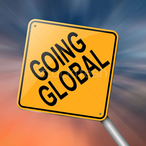 Going global. Stock photo © 72soul